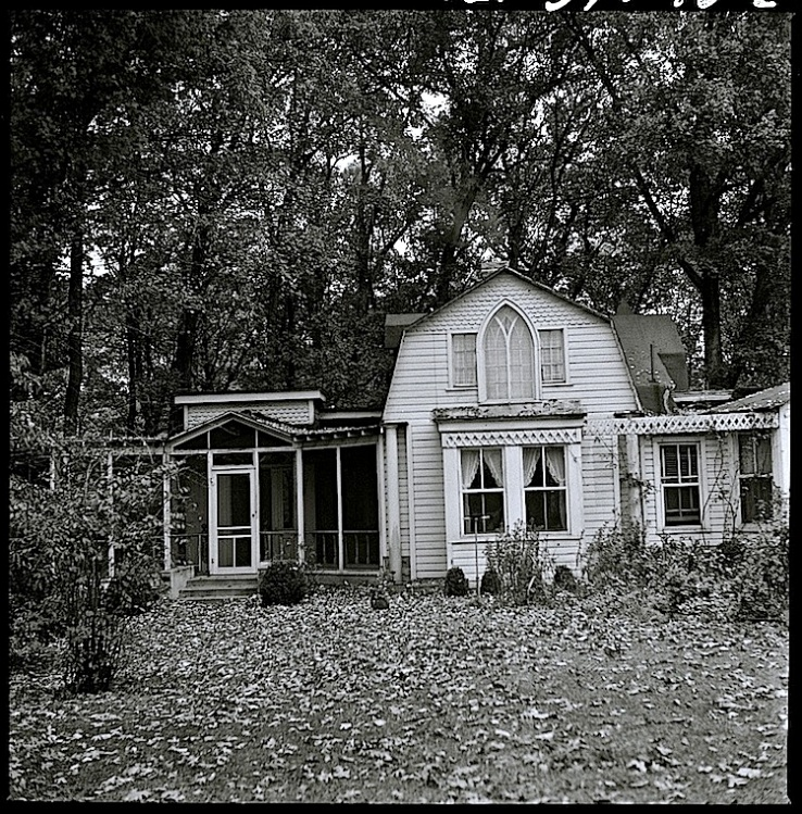 Miss Kale's house, via LoC