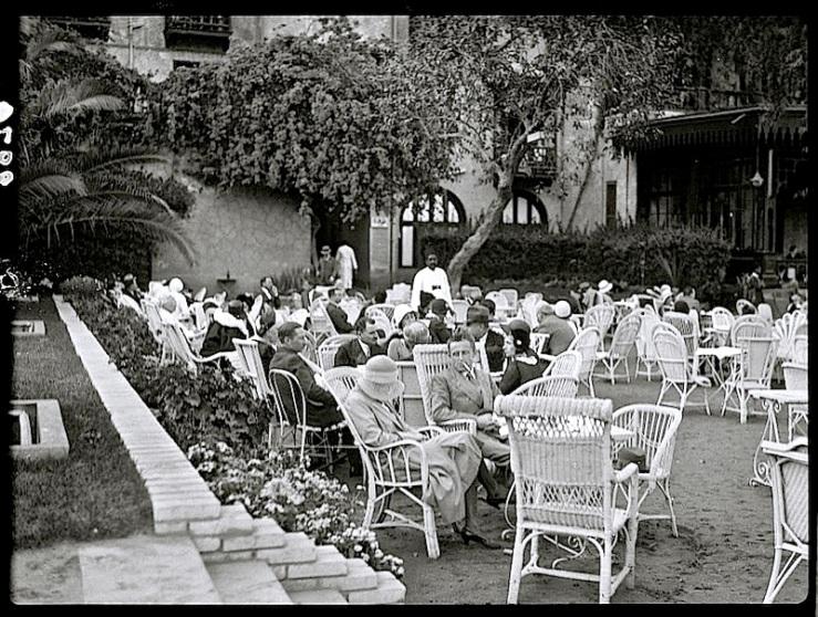 Tea in Egypt 1, Matson Col., LoC