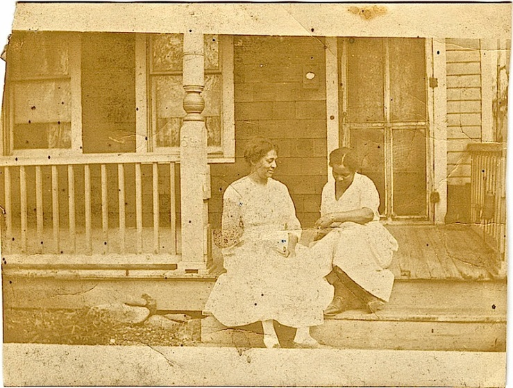 Two women, by Michael Francis Blake, Duke University Libraries Commons on flickr