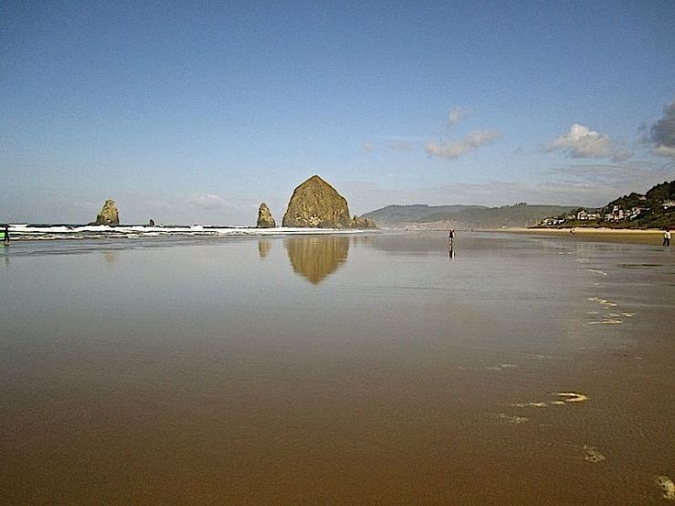 Cannon Beach 2 this morning
