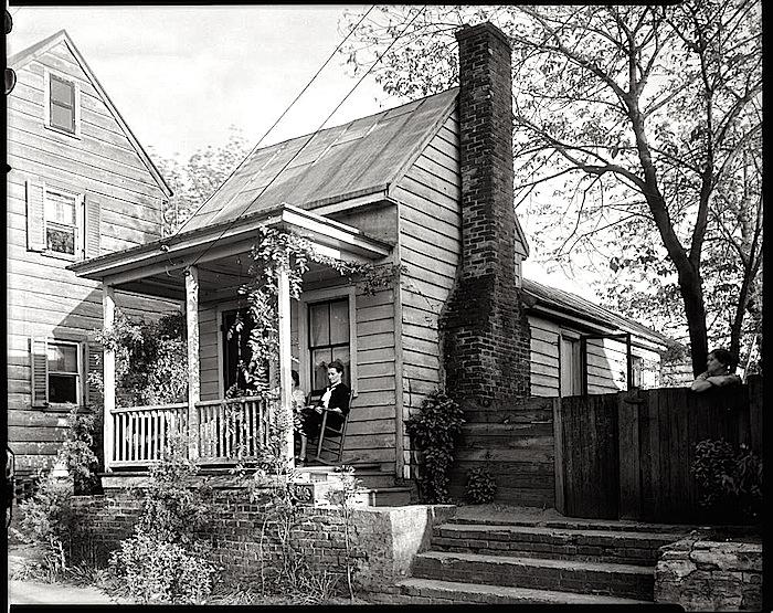 Small house, via LoC