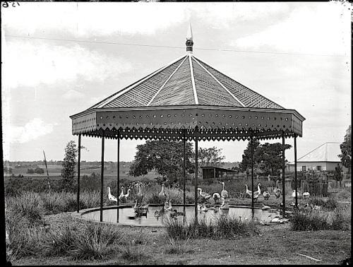 pavilion for ducks, ca. 1900, via Powerhouse Museum