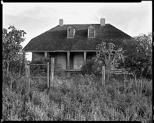 New Roads, Louisiana, 1938, by Frances Benjamin Johnston, via Library of Congress