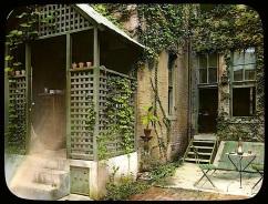 Sweet little back porch
