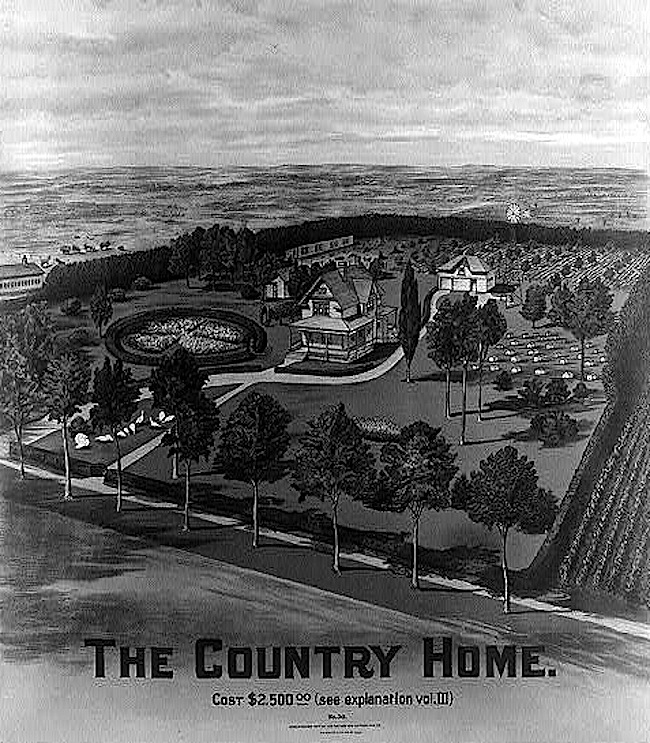 Country Home, 1904, Library of Congress