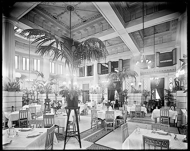 Hotel dining room, Library of Congress
