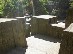 Ira Keller Fountain, Portland, Ore., October 2014/enclos*ure
