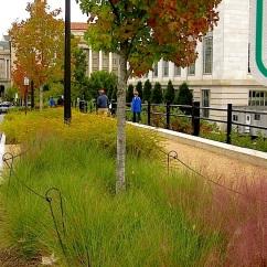 Smithsonian Bird Habitat Garden, October 2014, enclos*ure