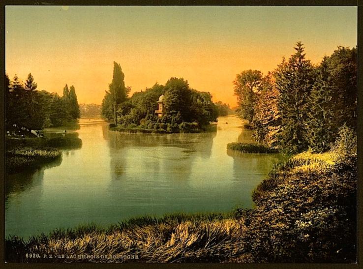 Bois du Boulogne, ca. 1890, Library of Congress