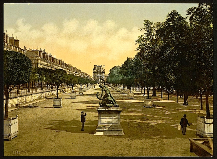 The Tuileries garden, Paris, France
