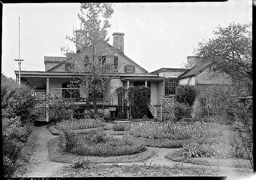 1934-The Sunday porch:enclos*ure-  J. B. Valle Hse, Mo., HABS, Library of Congress