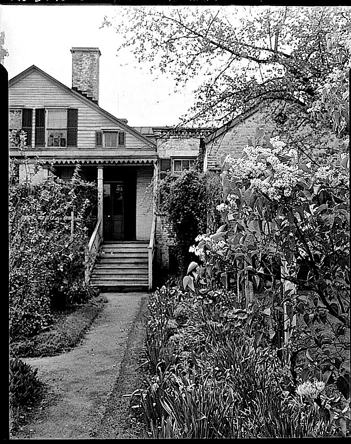 Spring 1934-The Sunday porch:enclos*ure-  J. B. Valle Hse, Mo., HABS, Library of Congress