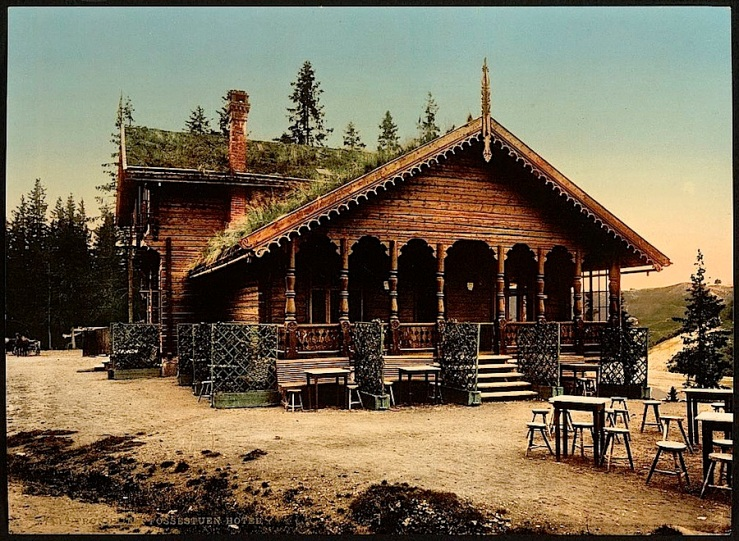 The Sunday porch/enclos*ure: Norwegian hotel, ca. 1900, Library of Congress