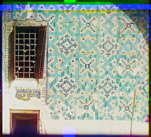 Tillia-Kari courtyard