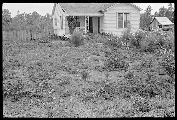 Another Dyess Colony House, Arkansas, 1935, Library of Congress