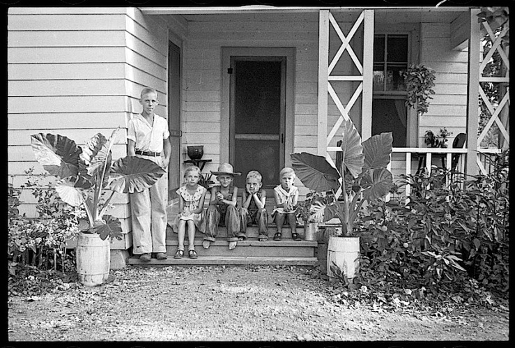 Children, Dyess Colony, Arkansas, 1940, Library of Congres