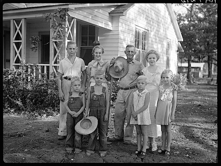 Family, Dyess Colony, Arkansas, 1940, Library of Congres