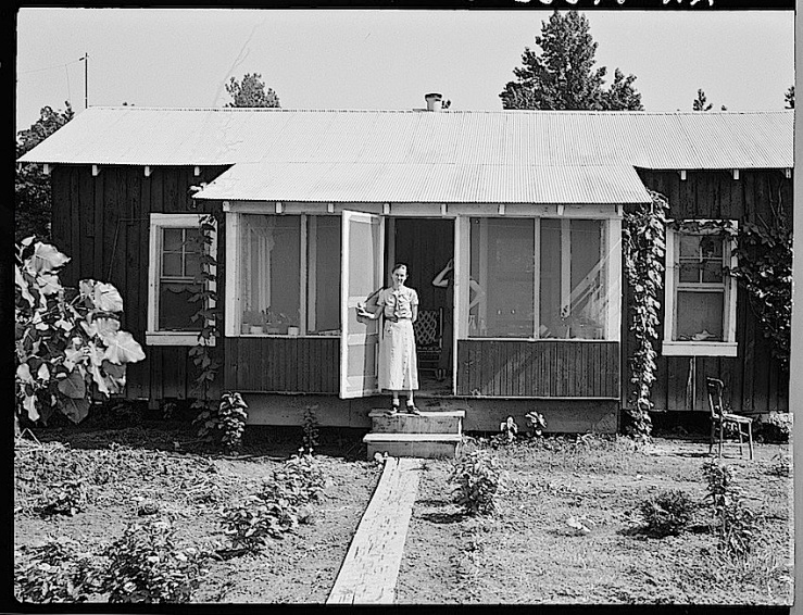 Front porch, Delta Coop Farm, 1937, Library of Congress