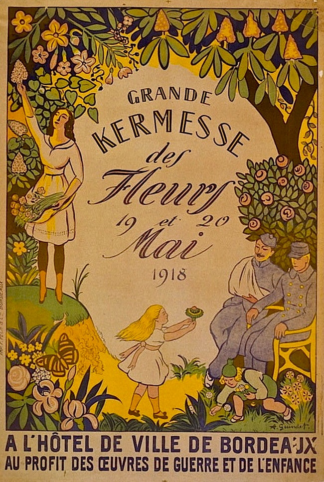 Grand Kermesse poster, Library of Congress