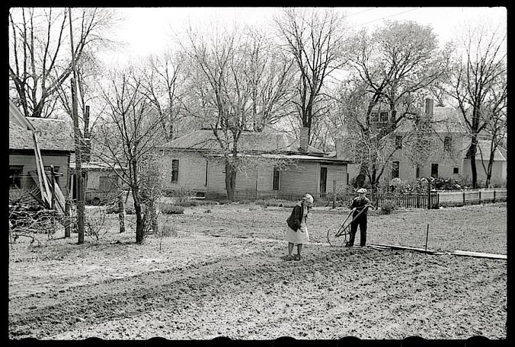 Woodbine, Iowa, 1940, J. Vachon, Library of Congress
