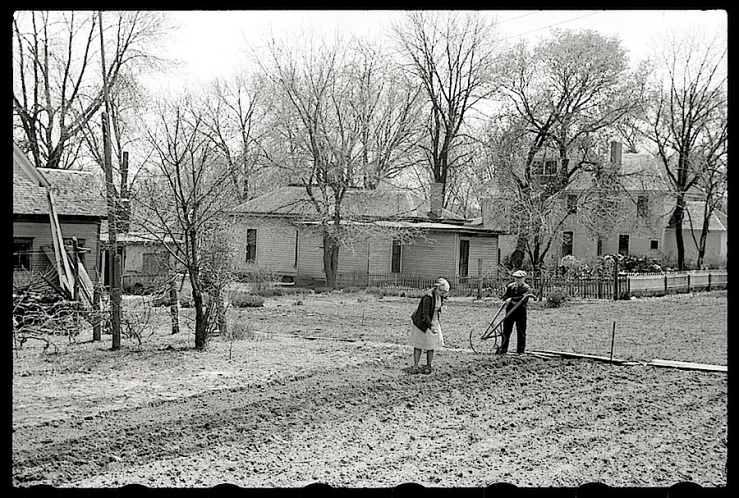 Woodbine, Iowa, 1940, J. Vachon, Library of Congress