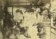 """""""Unidentified family on the verandah of a Cairns residence, ca. 1895."""""""