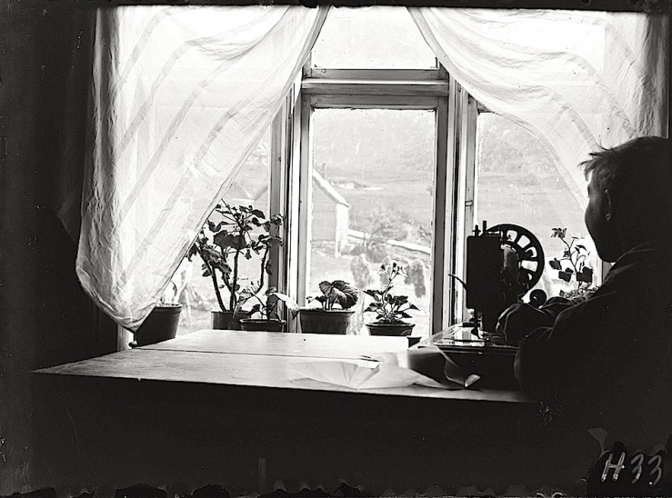 Window View, Norway, by Paul Stang, ca. 1910