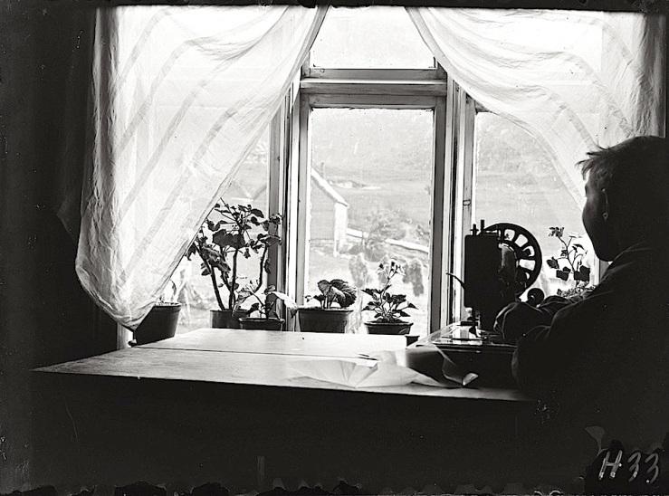 Window View, Norway, by Paul Stang, ca. 1910