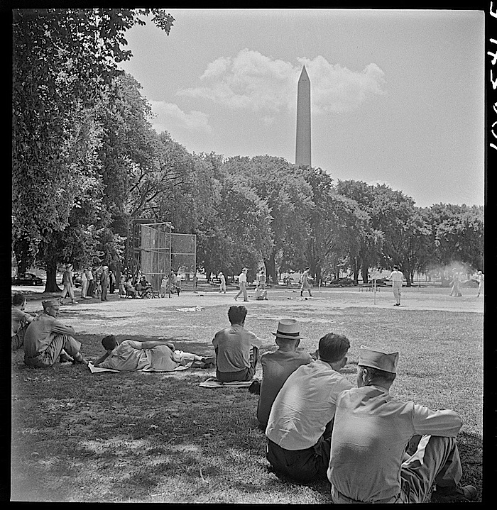 Washington, D.C., in July 1942, by Marjory Collins, via Library of Congress