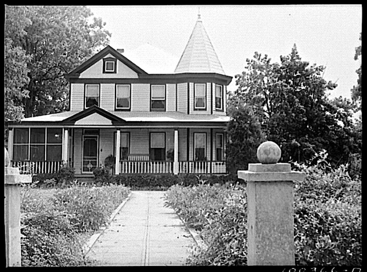 Mechanicsville MD house, Library of Congress
