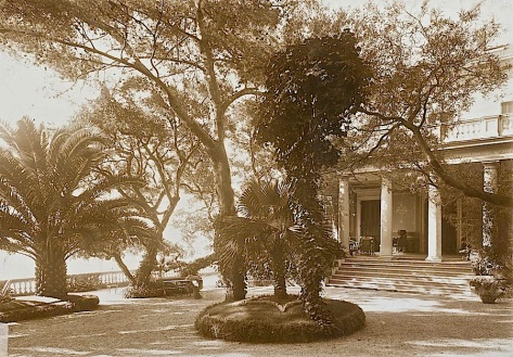 Full view, Poincare Residence, Eze, France, ca. 1914, University of Caen Basse-Normandie