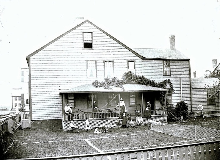 India House, 1880s, Nantucket Historical Association