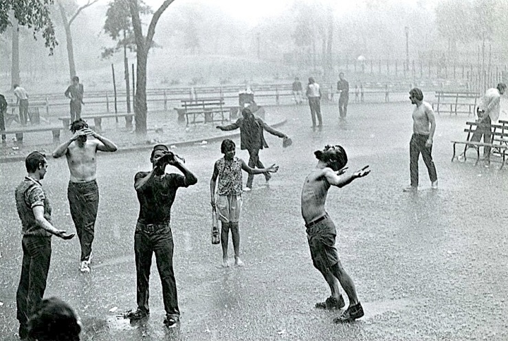 Tompkins Square Park, 1967, George Eastman House