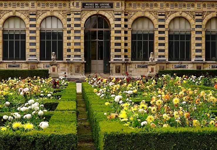 Jardin de l'infante, Louvre, Paris, Sept 2015, by enclos*ure
