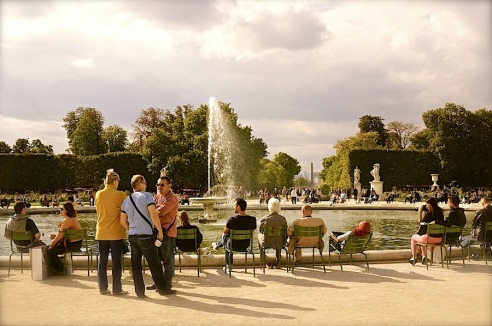 Tuileries Garden, Paris, September 2015, by enclos*ure
