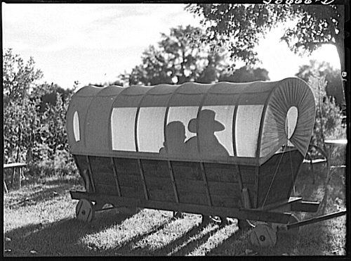 Montana ranch garden seat 2, 1941, M. Wolcott, Library of Congress