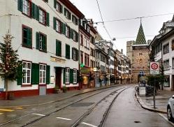 The 14th century Spalentor city gate.