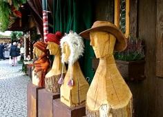 A hat seller.
