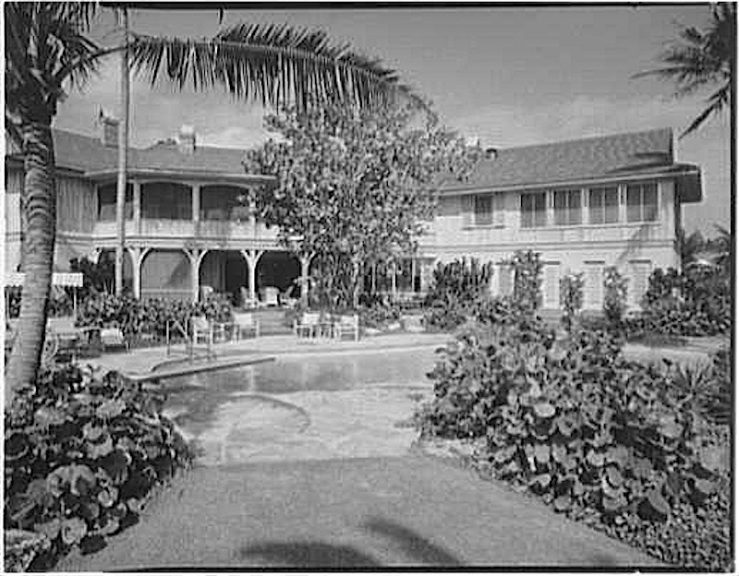 The Sunday porch:enclos*ure, Delray FL, 1959, Library of Congress