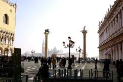 The Piazzetta di San Marco.