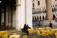 Piazza San Marco, Venice, Christmas 2015, enclos*ure