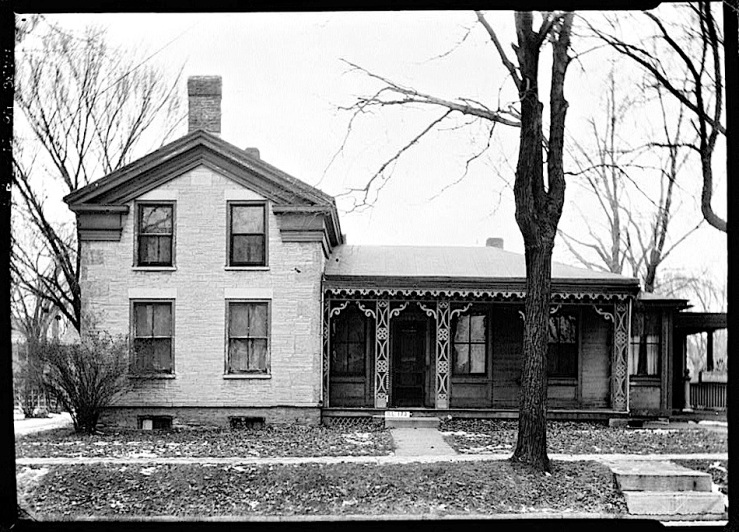 1 Palmer Hse., 1937, HABS, Library of Congress