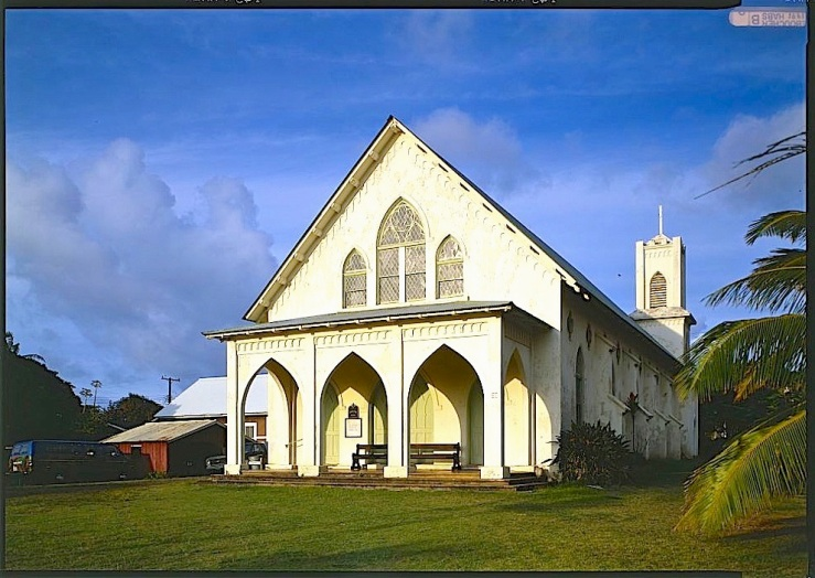 1 St. Francis Catholic Church, Kalaupapa, HI, HABS, Library of Congress