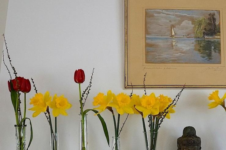 19 In a vase, Mar. 21, enclos*ure