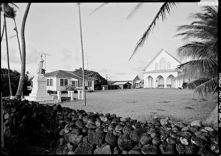 3 St. Francis Catholic Church, Kalaupapa, HI, HABS, Library of Congress