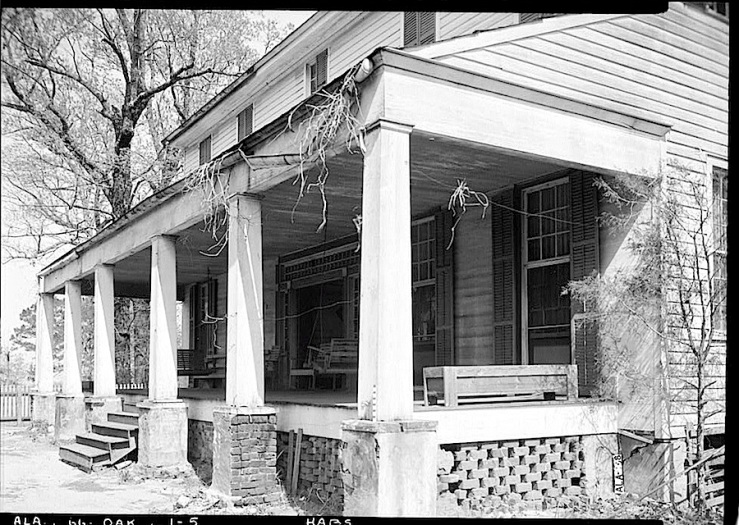 Old Ramsey Hse., 1937, A. Bush, HABS, Library of Congress