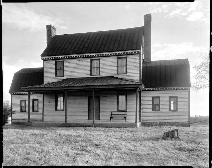 Danville, Virginia farmhouse, 1935, Library of Congress