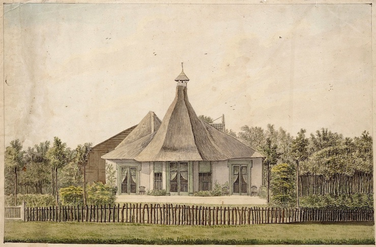 Heiloo, 1815, via Alkmaar Archives on flickr