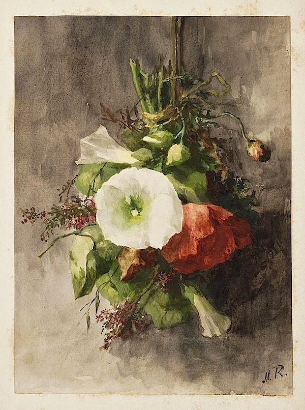 May bouquet, 1880s, Alkmaar Archives on flickr