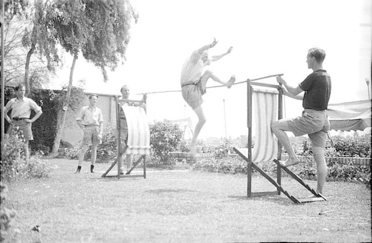 Norwegian Natl Day in Baghdad, 1941, DEXTRA Photo